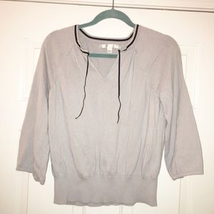 Lauren Conrad gray sweater size large
